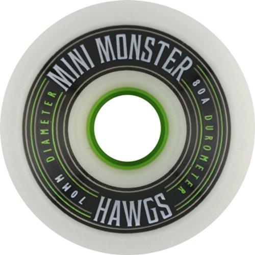 ウィール タイヤ スケボー スケートボード 海外モデル Hawgs Mini Monster 80a 70mm White Skate Wheelsウィール タイヤ スケボー スケートボード 海外モデル