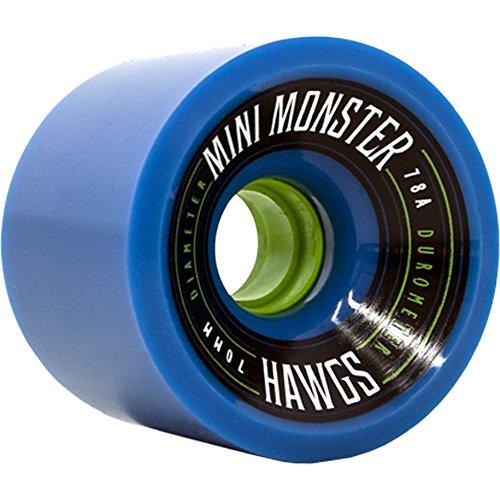 ウィール タイヤ スケボー スケートボード 海外モデル Hawgs Mini Monster 78a 70mm Blue Skateboard Wheels (Set of 4)ウィール タイヤ スケボー スケートボード 海外モデル
