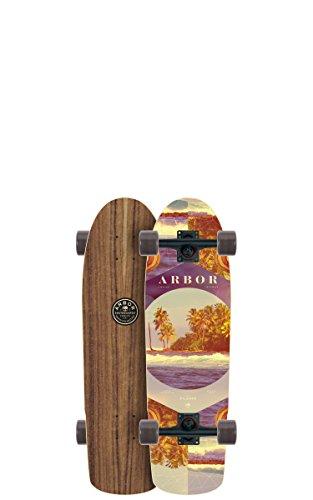 新しいブランド アーバー ロングスケートボード スケボー PI29W7C 海外モデル アメリカ直輸入 PI29W7C PI29W7C x Arbor Pilsner Photo Complete Skateboard, Nocturnal, 28.75