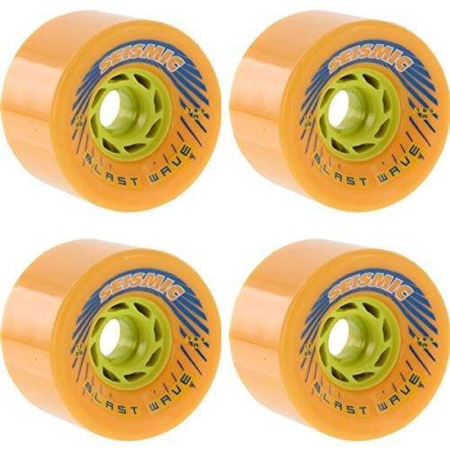 ウィール タイヤ スケボー スケートボード 海外モデル Seismic Skate Systems Blast Wave Mango Defcon Skateboard Wheels - 78mm 78.5a (Set of 4)ウィール タイヤ スケボー スケートボード 海外モデル