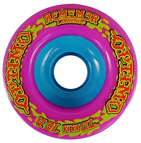 ウィール タイヤ スケボー スケートボード 海外モデル RWO7076 Remember Collective Optimo Freeride Wheel, Pinkウィール タイヤ スケボー スケートボード 海外モデル RWO7076