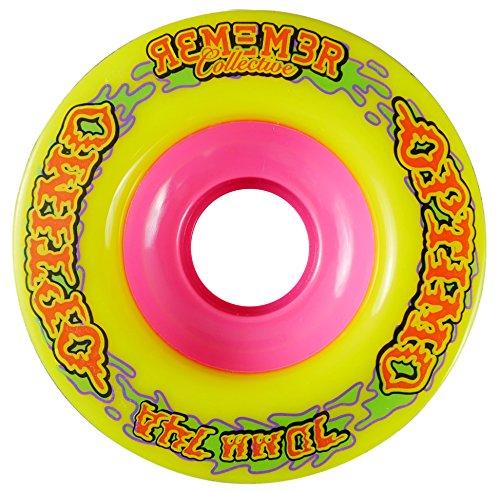 ウィール タイヤ スケボー スケートボード 海外モデル RWO7074 Remember Collective Optimo Freeride Wheel, Yellowウィール タイヤ スケボー スケートボード 海外モデル RWO7074