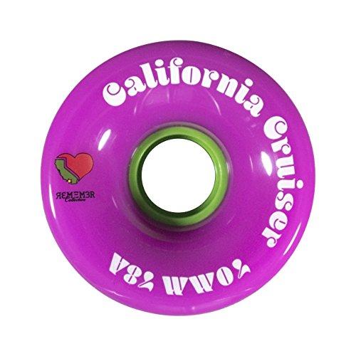 ウィール タイヤ スケボー スケートボード 海外モデル RWCC7078PNK Remember Collective RWCC7078PNK California Cruiser Wheel, Pinkウィール タイヤ スケボー スケートボード 海外モデル RWCC7078PNK
