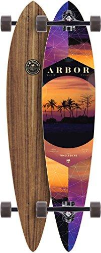 アーバー ロングスケートボード スケボー 海外モデル アメリカ直輸入 TI42W7C Arbor Timeless Photo Series Complete Skateboard, 42