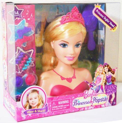 バービー バービー人形 スタイリングヘッド スタイルヘッド スタイルドールヘッド Blonde 14 Pieces Box Set Barbie The Priness & the Popstar Princess Stylバービー バービー人形 スタイリングヘッド スタイルヘッド スタイルドールヘッド Blonde 14 Pieces Box Set