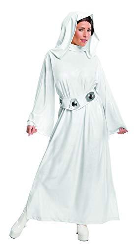 コスプレ衣装 コスチューム スターウォーズ メンズ・レディース・キッズ 【送料無料】Rubie's Deluxe Adult Princess Leia Costume X-Large Whiteコスプレ衣装 コスチューム スターウォーズ メンズ・レディース・キッズ