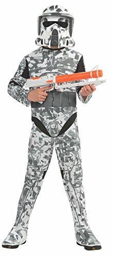 コスプレ衣装 コスチューム スターウォーズ メンズ・レディース・キッズ 883990 【送料無料】Rubies Star Wars Clone Wars Child's Arf Trooper Costume and Mask, Smallコスプレ衣装 コスチューム スターウォーズ メンズ・レディース・キッズ 883990