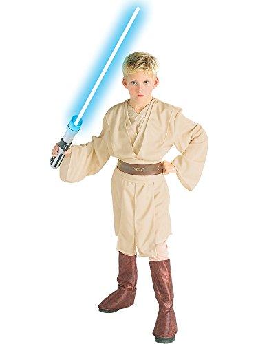 コスプレ衣装 コスチューム スターウォーズ メンズ・レディース・キッズ 【送料無料】Rubie's Deluxe Child Star Wars Obi-Wan Costume - Largeコスプレ衣装 コスチューム スターウォーズ メンズ・レディース・キッズ