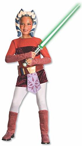 コスプレ衣装 コスチューム スターウォーズ メンズ・レディース・キッズ 883199_S 【送料無料】Rubie's Star Wars Clone Wars Child's Ahsoka Tano Costume, Small, Redコスプレ衣装 コスチューム スターウォーズ メンズ・レディース・キッズ 883199_S