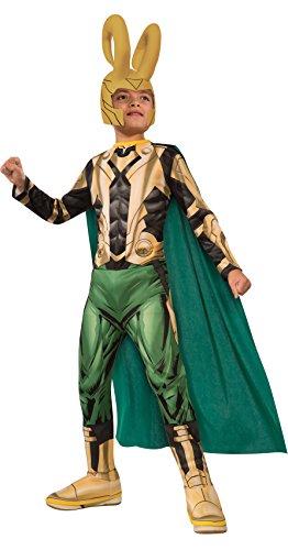 コスプレ衣装 コスチューム その他 610894_L 【送料無料】Avengers Assemble Loki Costume, Child's Largeコスプレ衣装 コスチューム その他 610894_L