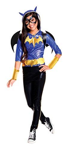 コスプレ衣装 コスチューム バットガール 620711_M Rubie's Costume Kids DC Superhero Girls Deluxe Batgirl Costume, Mediumコスプレ衣装 コスチューム バットガール 620711_M