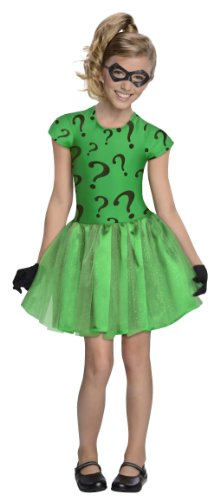 コスプレ衣装 コスチューム その他 886982M DC Super Villain Collection Riddler Girl's Costume with Tutu Dress, Mediumコスプレ衣装 コスチューム その他 886982M