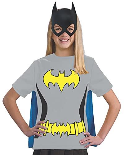 コスプレ衣装 コスチューム バットガール 881345 Justice League Child's Batgirl 100% Cotton T-Shirt - Smallコスプレ衣装 コスチューム バットガール 881345