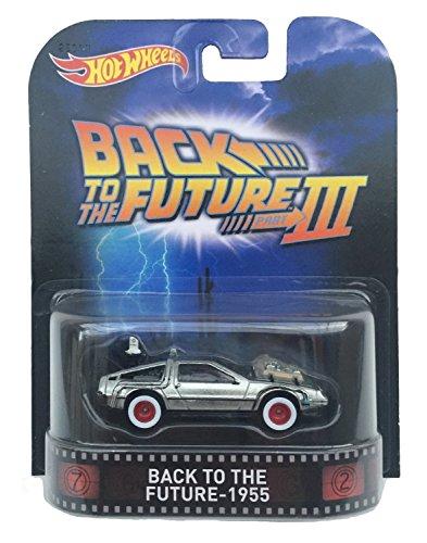 世界的に ホットウィール マテル ミニカー Series ホットウイール Vehicleホットウィール CFR30【送料無料 Cast】Back to the Future - 1955 Time Machine