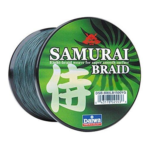 リール Daiwa ダイワ 釣り道具 フィッシング DSB-B20LB150YG 【送料無料】Daiwa Samurai Braid Green 20 Lb - 150 Yardsリール Daiwa ダイワ 釣り道具 フィッシング DSB-B20LB150YG