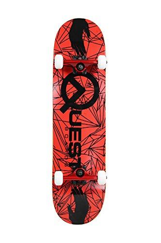 スタンダードスケートボード スケボー 海外モデル 直輸入 SCSK8 Pro Skateboard/Crusier Pre-Assembled Complete (Red Handed)スタンダードスケートボード スケボー 海外モデル 直輸入