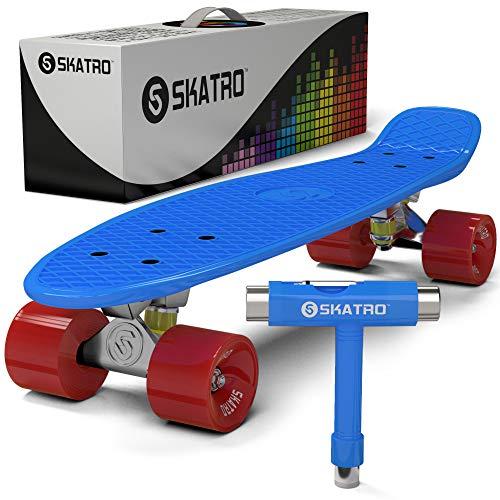 スタンダードスケートボード スケボー 海外モデル 直輸入 Skatro-BlueOcean Skatro - Mini Cruiser Skateboard. 22x6inch Retro Style Plastic board Comes Complete. Model: Blue Oceanスタンダードスケートボード スケボー 海外モデル 直輸入 Skatro-BlueOcean
