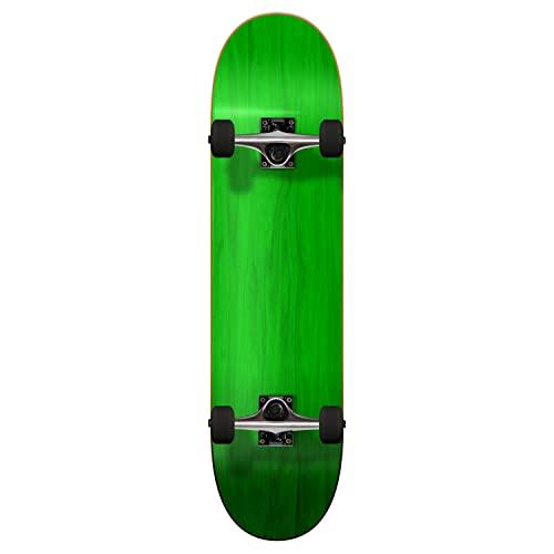 """スタンダードスケートボード スケボー 海外モデル 直輸入 Yocaher Blank Complete Skateboard 7.75"""" Skateboards - (Complete 7.75"""" Green)スタンダードスケートボード スケボー 海外モデル 直輸入"""
