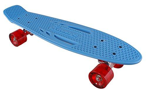 スタンダードスケートボード スケボー 海外モデル 直輸入 Classic Retro Karnage Retro Skateboard (Blue/Red)スタンダードスケートボード スケボー 海外モデル 直輸入 Classic Retro
