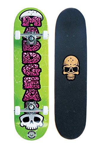 スタンダードスケートボード スケボー 海外モデル 直輸入 9334052056014 Madd Gear Brain Skateboard, Greenスタンダードスケートボード スケボー 海外モデル 直輸入 9334052056014