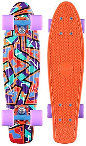 ペニー スタンダードスケートボード スケボー 海外モデル アメリカ直輸入 428407654570 Penny Complete Skateboard, Spike, 22