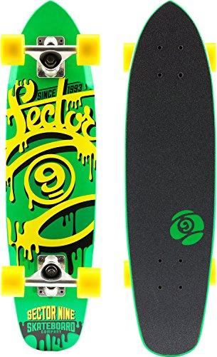 セクター9 スタンダードスケートボード スケボー 海外モデル アメリカ直輸入 FF141CGreen 【送料無料】Sector 9 The 95' Complete Skateboard, Greenセクター9 スタンダードスケートボード スケボー 海外モデル アメリカ直輸入 FF141CGreen