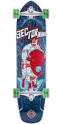 【在庫有】 セクター9 Mini ロングスケートボード スケボー 海外モデル アメリカ直輸入 PF146CBlue Skateboards, PF146CBlue Sector 9 Mini Daisy Complete Skateboards, Blueセクター9 ロングスケートボード スケボー 海外モデル アメリカ直輸入 PF146CBlue, ホウライの那須千本松牧場:d5188d30 --- canoncity.azurewebsites.net