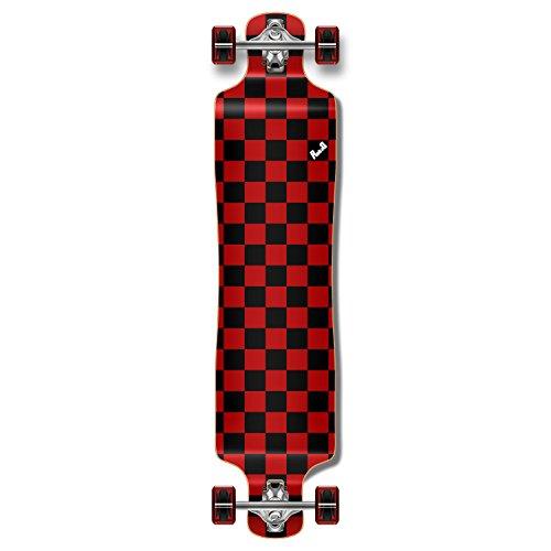【新作からSALEアイテム等お得な商品満載】 ロングスケートボード スケボー 海外モデル 直輸入 Yocaher Punked Down Lowrider Drop 直輸入 Lowrider Down Through Longboard Complete Skateboard (Checker Red)ロングスケートボード スケボー 海外モデル 直輸入, 中井製茶場有無:6fc474ef --- slope-antenna.xyz