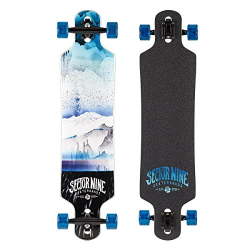 セクター9 ロングスケートボード スケボー 海外モデル アメリカ直輸入 CS163CBlue Sector 9 Meridian Complete Skateboard, Blueセクター9 ロングスケートボード スケボー 海外モデル アメリカ直輸入 CS163CBlue