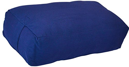 ヨガ フィットネス Y042BOLBLU03 YogaAccessories Supportive Rectangular Cotton Yoga Bolster (Blue)ヨガ フィットネス Y042BOLBLU03