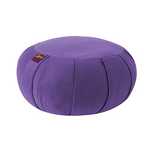 ヨガ フィットネス Yogavni-Zafu-Round-BuckWheat-Purple 【送料無料】YogavniTM Round Zafu Cushion Filled with Buckwheat Hulls (Purple)ヨガ フィットネス Yogavni-Zafu-Round-BuckWheat-Purple