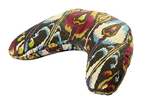 ヨガ フィットネス BO-VSHAPE-PRINT-IKAT 【送料無料】Hugger Mugger V-Shape Cushion, Bohemian Ikatヨガ フィットネス BO-VSHAPE-PRINT-IKAT