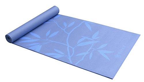 ヨガマット フィットネス 05-58385 Gaiam Yoga Mat Premium Print Extra Thick Non Slip Exercise & Fitness Mat for All Types of Yoga, Pilates & Floor Exercises, Ash Leaves, 5/6mmヨガマット フィットネス 05-58385