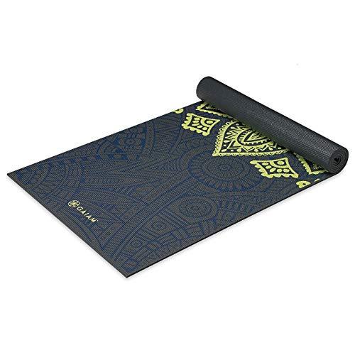 ヨガマット フィットネス 05-62432 Gaiam Yoga Mat Premium Print Extra Thick Non Slip Exercise & Fitness Mat for All Types of Yoga, Pilates & Floor Exercises, Sundial Layers, 68-Inch x 24-Inch x 6mmヨガマット フィットネス 05-62432