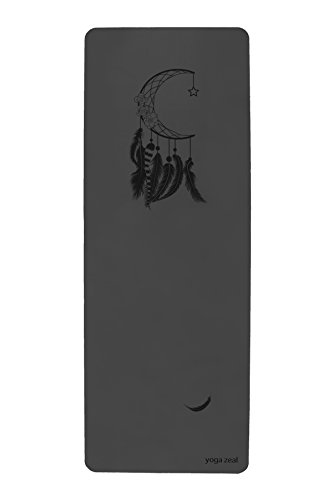 ヨガマット フィットネス 【送料無料】Yoga Zeal Mooncatcher Mat Hot Yoga, Bikram Yoga Mat. Specially Designed for Hot Yoga. No Inks - Laser Printedヨガマット フィットネス