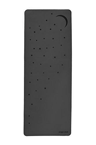 ヨガマット フィットネス 【送料無料】Moon and Stars GRIP Mat - Revolutionary Non-Slip Grip - Grippier with Sweat - Ultimate Hot Yoga Mat, No Inks, Non Toxic, Ink-Free, Non-Slip, Extra Thick, EXTRA Long/Wide, Best Sweaty Yヨガマット フィットネス