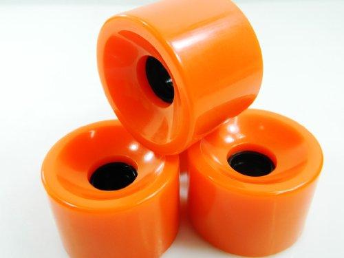 ウィール タイヤ スケボー スケートボード 海外モデル 70mm Pro Longboard Skateboard Wheels Solid Gel Colors (Solid Orange)ウィール タイヤ スケボー スケートボード 海外モデル