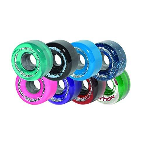 ウィール タイヤ スケボー スケートボード 海外モデル Sure-Grip Motion Outdoor Quad Roller Skating 62mm Clear Purpleウィール タイヤ スケボー スケートボード 海外モデル