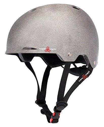 ヘルメット スケボー スケートボード 海外モデル 直輸入 3374 Triple Eight Gotham Dual Certified Skateboard and Bike Helmet, Darklight Reflective, Large/X-Largeヘルメット スケボー スケートボード 海外モデル 直輸入 3374