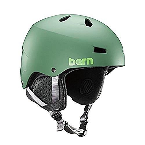 ヘルメット スケボー スケートボード 海外モデル 直輸入 SM02E17MLG2 Bern Macon EPS Matte Leaf Green w/Black Liner - Mediumヘルメット スケボー スケートボード 海外モデル 直輸入 SM02E17MLG2