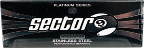 ベアリング スケボー スケートボード 海外モデル 直輸入 1BSEC09PLAAB900 Sector 9 Abec-9 Platinum Bearingsベアリング スケボー スケートボード 海外モデル 直輸入 1BSEC09PLAAB900