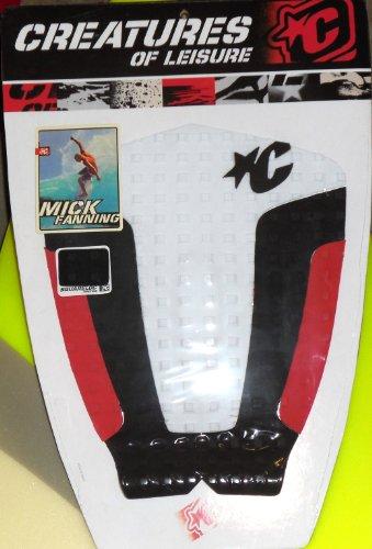 サーフィン デッキパッド マリンスポーツ Mick Fanning Mick Fanning Designed Creatures of Leisure Surfboard Traction Pad. Designed and Created in Australia.サーフィン デッキパッド マリンスポーツ Mick Fanning