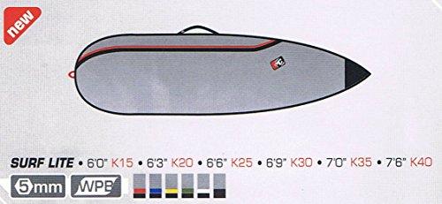 サーフィン ボードケース バックパック マリンスポーツ Creatures of Leisure Surfboard Bag - Team Designed Surf Lite Short Board. 5'10