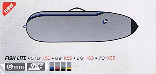 サーフィン ボードケース バックパック マリンスポーツ Creatures of Leisure Surfboard Bag - Team Designed Surf Lite Fish/Fun Board. 5'10