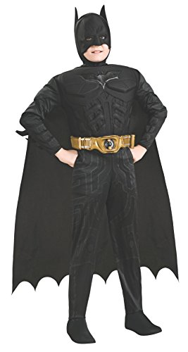 コスプレ衣装 コスチューム バットマン 881290 Batman Dark Knight Rises Child's Deluxe Muscle Chest Batman Costume with Mask/Headpiece and Cape - Toddlerコスプレ衣装 コスチューム バットマン 881290