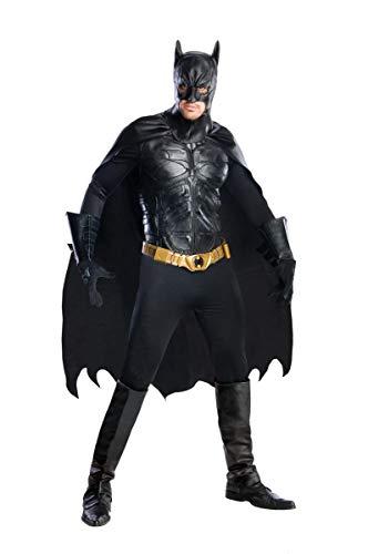 コスプレ衣装 コスチューム バットマン 56309 Rubie's Men's The Dark Knight Rises Deluxe Batman Costume, Black, Mediumコスプレ衣装 コスチューム バットマン 56309
