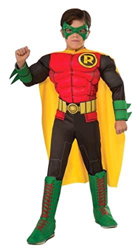 コスプレ衣装 コスチューム その他 610829_M Rubie's Child's DC Superheroes Robin Costume, Mediumコスプレ衣装 コスチューム その他 610829_M