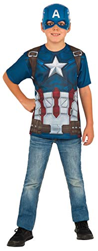 コスプレ衣装 コスチューム キャプテンアメリカ 620719_S Rubie's Costume Captain America: Civil War Child Top and Mask, Smallコスプレ衣装 コスチューム キャプテンアメリカ 620719_S