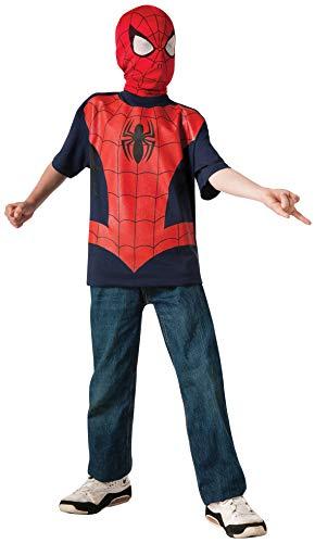 コスプレ衣装 コスチューム スパイダーマン 883269_S Rubie's Marvel Ultimate Spider-man T-Shirt and Mask, Child Small - Child Small One Colorコスプレ衣装 コスチューム スパイダーマン 883269_S