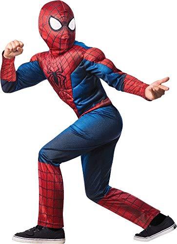 コスプレ衣装 コスチューム スパイダーマン 【送料無料】Deluxe Spider-Man Costume - Mediumコスプレ衣装 コスチューム スパイダーマン